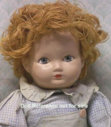 F & B 1943 Big Brother doll, 16""