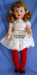 F & B 1959 Mary Jane doll, 32""