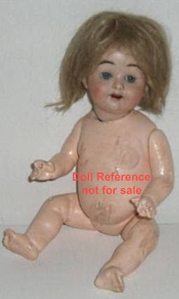 "Ernst Heubach Baby doll, 10 1/2"", mold 300"