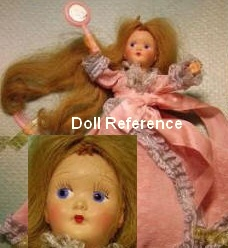 1949 Eugenia Pam the Perm-O-Wave Doll, 14""