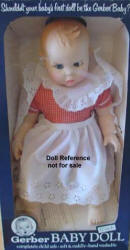 1980's Atlanta Novelty, Gerber Baby doll, 17""