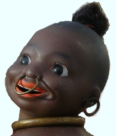 Ernst Heubach Sudsee Baby, South Sea Baby black doll mold 463