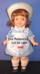1972 Horsman Little Debbie snack cake doll, 11""