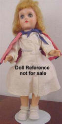 1953 Ideal Miss Curity doll 14""
