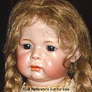 K & R Character Child Doll mold 115, 22""