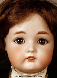 K & R Child doll mold 403, 20""