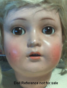 "ca. 1928 K & R Rosi Germany, doll 58 cm. or 27"" tall"
