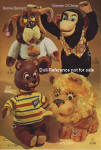 1966 Mattel Plush talking dolls and hand puppets ad Wards