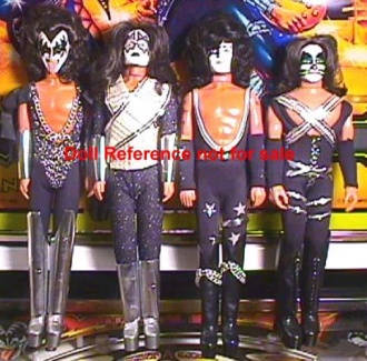 Mego Kiss Rock group artists 1978