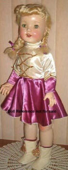 1951 Paris Rita Majorette doll, 28""