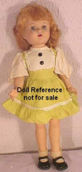 1952 Paris Roxanne Beat the Clock doll, 16""