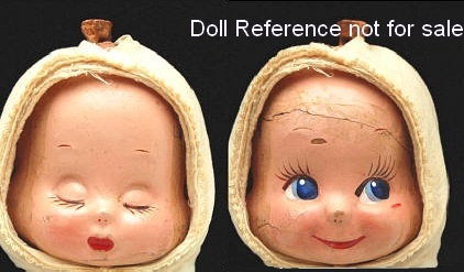 Three in One Doll Corp - Trudy Sleeping, Awake face doll